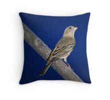 Momma Bird Throw Pillow