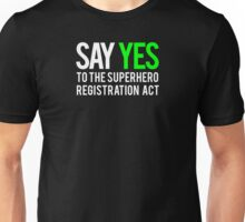 Civil War - Say Yes - White Clean Unisex T-Shirt