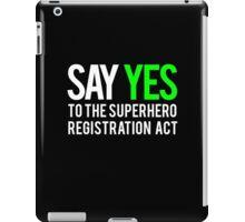 Civil War - Say Yes - White Clean iPad Case/Skin