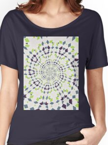 Abstract Retro Diamonds Women's Relaxed Fit T-Shirt