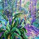 Walkway Tamborine Mountain Botanical Gardens  by Virginia McGowan