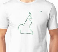 """Cameroon """"Citizen of the Earth"""" large Unisex T-Shirt"""