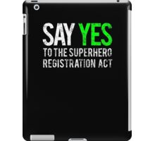 Civil War - Say Yes - White Dirty iPad Case/Skin