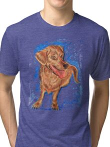 Happy Dog Tri-blend T-Shirt
