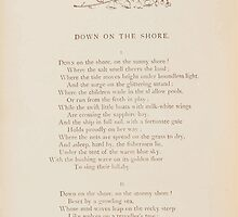 Rhymes for the Young Folk William and Hellen Allingham art Kate Greenaway 0060 Down on the Shore by wetdryvac