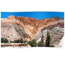 El cerro de los siete colores Poster