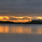 Panoramic Dawn - Narrabeen Lakes - The HDR Experience by Philip Johnson