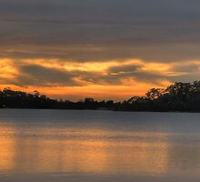 Anticipation - Narrabeen Lakes, Sydney - The HDR Experience by Philip Johnson