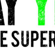 Civil War - Say Yes - Black Dirty Sticker