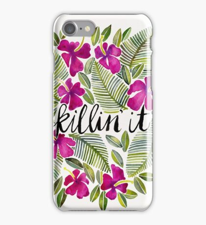 Killin' It – Tropical Pink iPhone Case/Skin