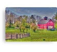 Living on the Farm Canvas Print