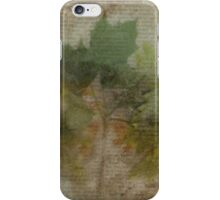 Makes Me Think of Autumn iPhone Case/Skin