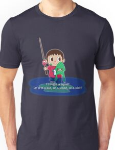 Fishing for Ink Unisex T-Shirt