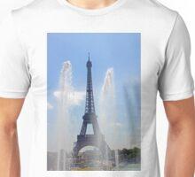 Eiffel Tower - Tour Eiffel & Trocadero Fontains Unisex T-Shirt