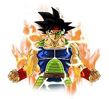 Bardock In Fire Photographic Print