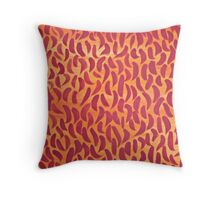 Lines of the Sun  Throw Pillow