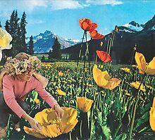 Rocky Mountain Flower Girl by Sandra Molina