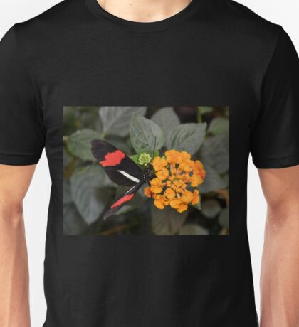 Butterfly with Red Banded Wings Unisex T-Shirt