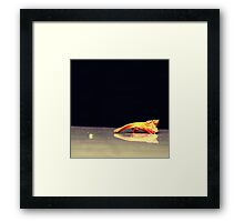 Touch. Framed Print