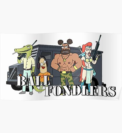 Ball Fondlers Poster