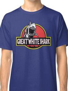 Great White Shark Jurassic Parody T Shirt Classic T-Shirt
