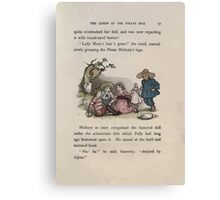The Queen of Pirate Isle Bret Harte, Edmund Evans, Kate Greenaway 1886 0041 The Doll Canvas Print