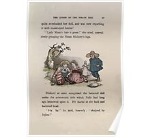 The Queen of Pirate Isle Bret Harte, Edmund Evans, Kate Greenaway 1886 0041 The Doll Poster