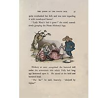 The Queen of Pirate Isle Bret Harte, Edmund Evans, Kate Greenaway 1886 0041 The Doll Photographic Print
