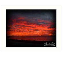 Redcliffe Sunrise Art Print