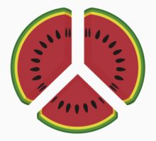 Watermelon Peace Kids Tee