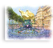 Princess Diana Memorial Canvas Print