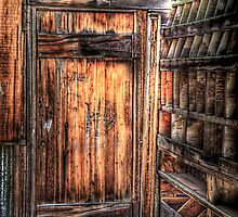 Old Door at Smith Mine by Kim Barton