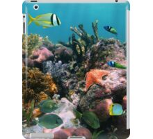 Tropical fish in coral reef iPad Case/Skin