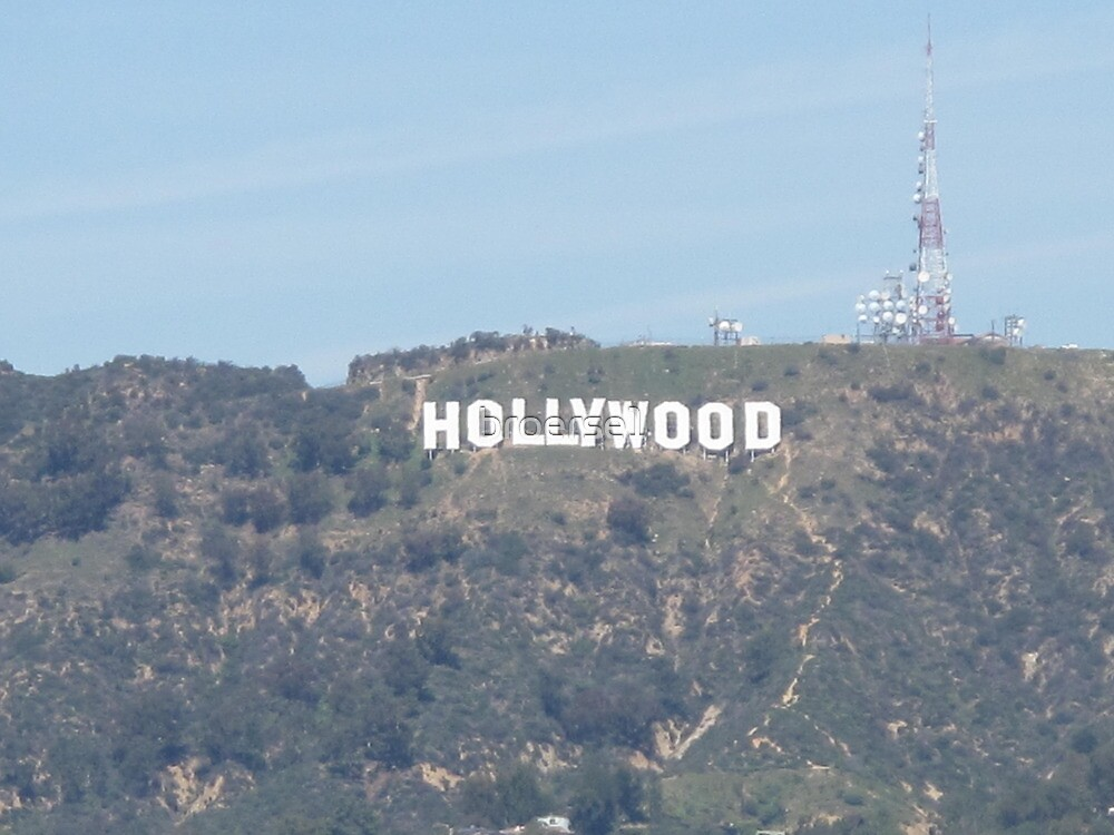 Hollywood Sign by broerse1