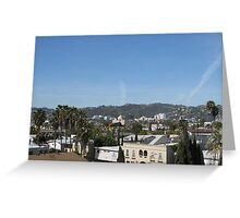 Hollywood Greeting Card