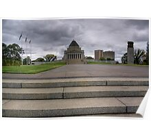 Shrine of Remembrance, Melbourne Poster