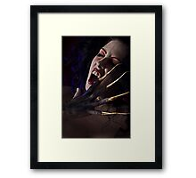 Blood Lust Framed Print