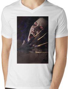 Blood Lust Mens V-Neck T-Shirt