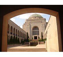 Canberra War Memorial. Photographic Print