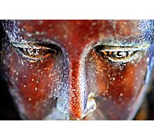 Sculpted Angel Eyes Photographic Print