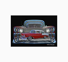 Multiple Red and White Chevy Belair Abstract Unisex T-Shirt