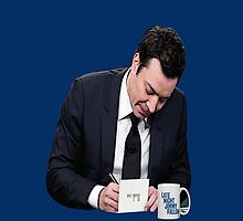 Jimmy Fallon Thank You Notes by slimpow