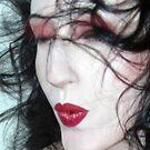 The Whisper Kiss - Self Portrait by Jaeda DeWalt