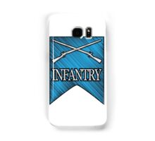 Crossed Infantry Muskets Samsung Galaxy Case/Skin