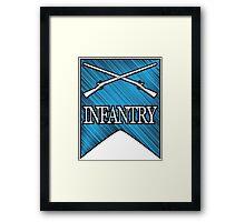 Crossed Infantry Muskets Framed Print