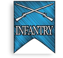 Crossed Infantry Muskets Canvas Print