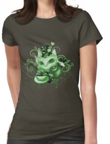 Teemo in Wonderland (green desaturate) Womens Fitted T-Shirt