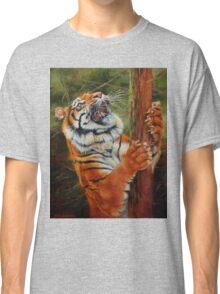 Tiger Chasing Prey Classic T-Shirt