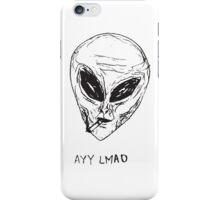 Ayy lmao iPhone Case/Skin