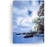 Onemana Beach infrared Canvas Print